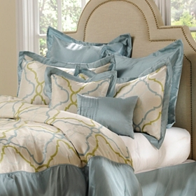 Blue Grand Manor 8-pc. King Comforter Set