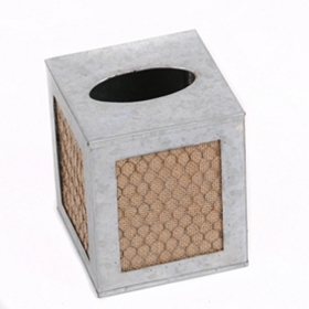 Chicken Wire Tissue Holder