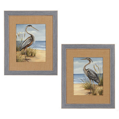 Shore Bird Framed Art Prints