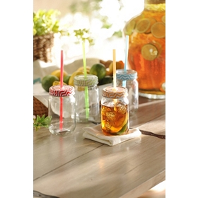 Chevron Mason Jar Sippers