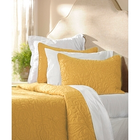 Yellow 3-pc. King Quilt Set