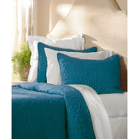 Teal 3-pc. King Quilt Set