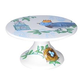 Prince Chirping Stoneware Cake Stand