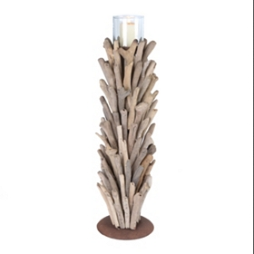 Driftwood Candle Holder, 18.5 in.