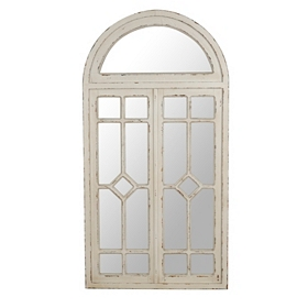Cream Celeste Arched Decorative Mirror