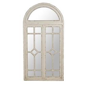 Cream Celeste Arched Decorative Mirror
