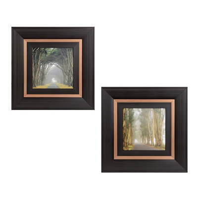 Corridor Of Cypress Framed Art Prints