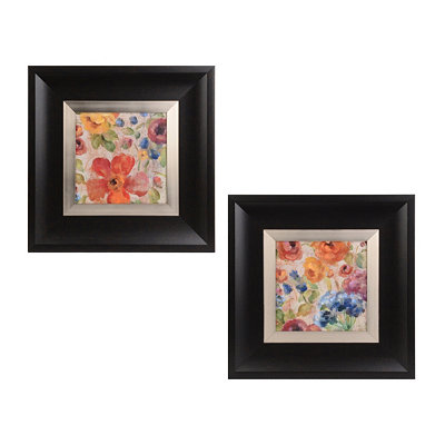 April Rainflowers Framed Art Prints