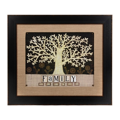 Family First & Foremost Framed Art Print