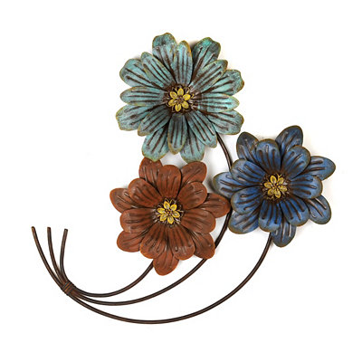 Siena Florals Wall Plaque