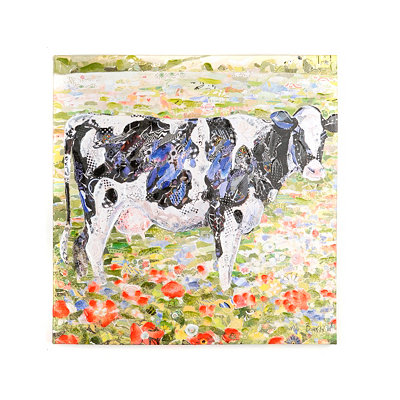 Dairy Pasture Canvas Art Print