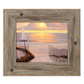 Paradise Sunset I Framed Art Print