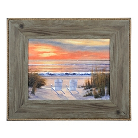 Paradise Sunset II Framed Art Print