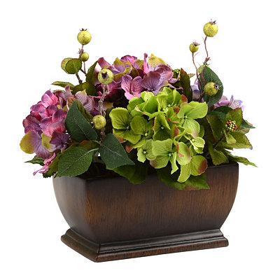 Hydrangea and Berries Arrangement