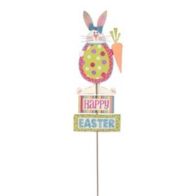 Happy Easter Yard Stake