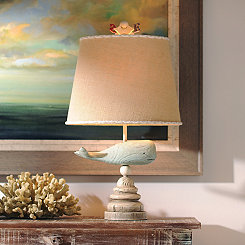 Blue Whale Table Lamp
