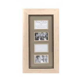Cream Lineage Collection 4x6 Collage Frame