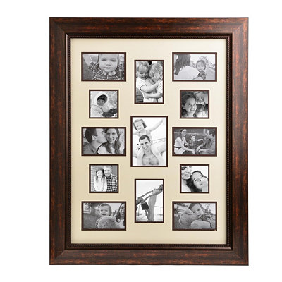 Bronze & Cream Lineage Collection Collage Frame