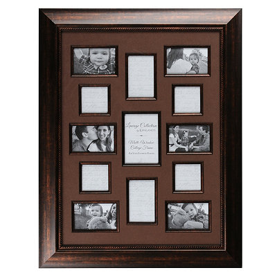 Bronze & Brown Lineage Collection Collage Frame