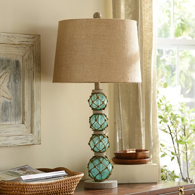Netted Orbs Table Lamp