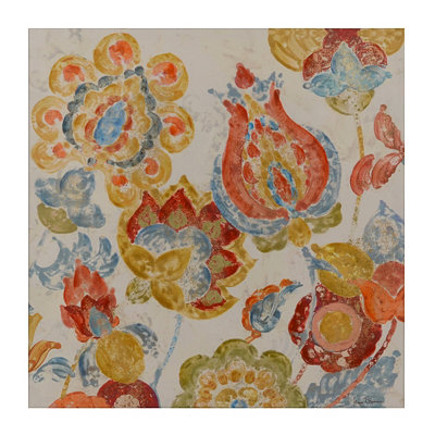 Paisley Splendor II Canvas Art Print