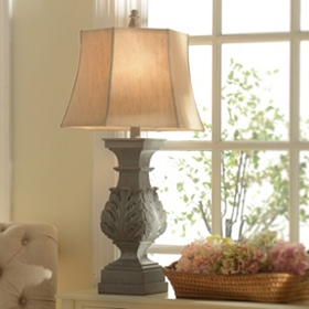 Stonington Blue Table Lamp