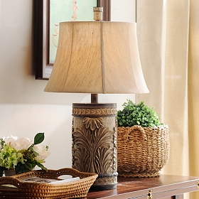 Laurel Bay Bronze Table Lamp
