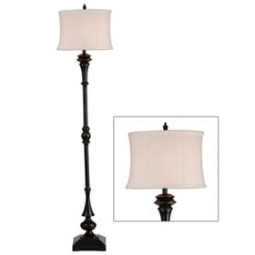 Black Emmett Metal Floor Lamp