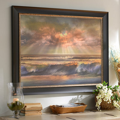 Magical Morning Sunrise Framed Art Print