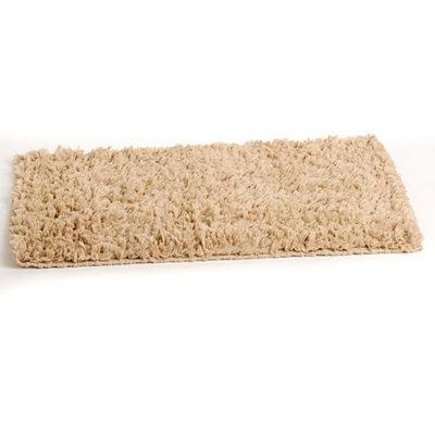 Taupe Shag Bath Mat