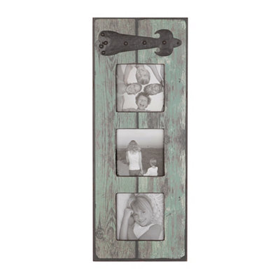 Distressed Green Collage Frame