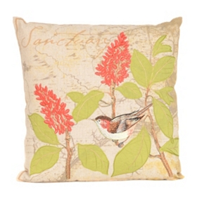 Bird Sanctuary Pillow