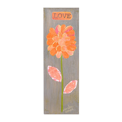 Flower of Love Canvas Art