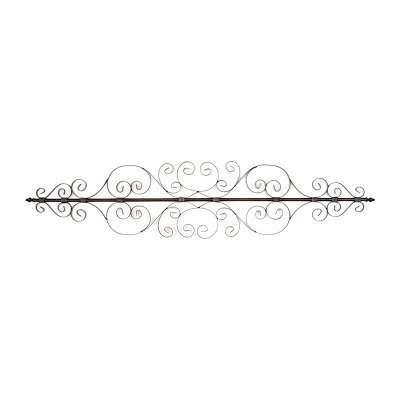 Scroll Reflections Metal Wall Plaque