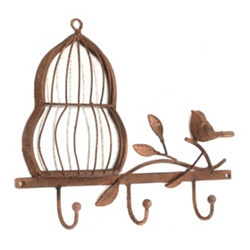 Birdcage Wall Hook