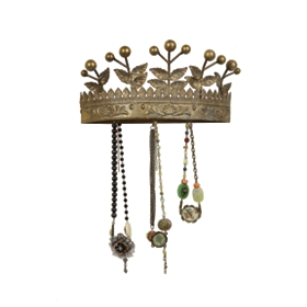 Golden Crown Wall Hook