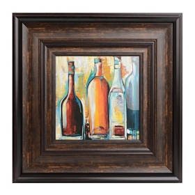 Judeen Wine I Framed Art Print