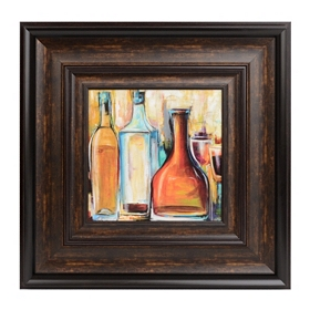 Judeen Wine II Framed Art Print