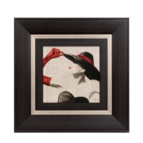 Woman Of Style I Framed Art Print