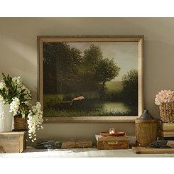 Kohler's Pig Framed Art Print