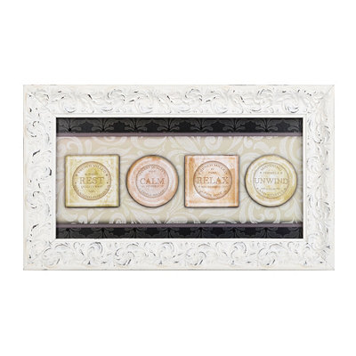 Soothing Soaps Framed Art Print