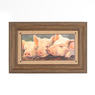Pig Heaven Framed Art Print