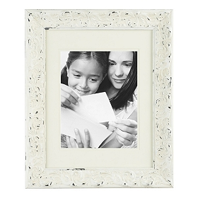 Ivory Matte Harlow Picture Frame, 8x10