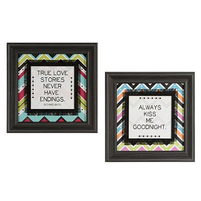 Inspiring Chevron Framed Art Prints