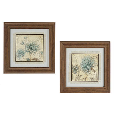 Botanical Sketches Framed Art Prints
