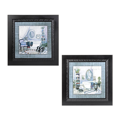 Violet Bath Framed Art Prints