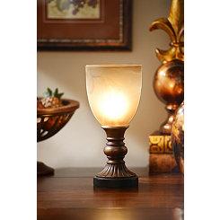 Bronze Resin Uplight