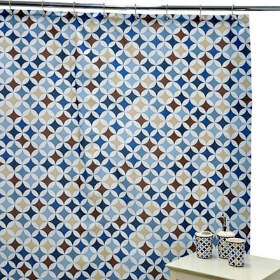 Mystic Blue Bathroom Accessory Set