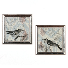 Morning Birds Framed Art Prints