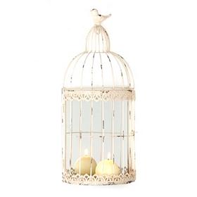 Vintage Bird Cage Sconce